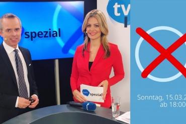 Dr. Uwe Brückner & Monika Eckert senden live aus dem Wahl-Studio in Ingolstadt